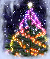 3d Christmas Tree ScreenSaver Icon