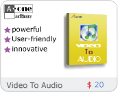 A-one Video To Audio Convertor Icon