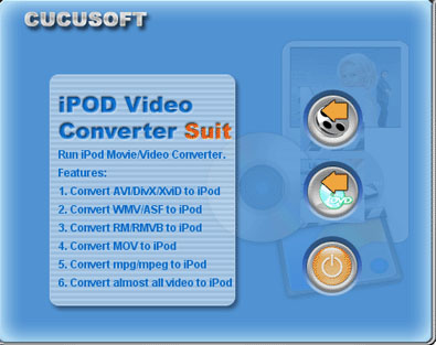 Cucusoft iPod Video Converter + DVD to i Icon
