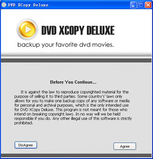 DVD XCopy Deluxe build 2006 Icon