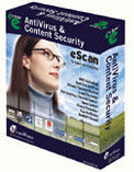 eScan Anti-Virus for Windows (AV) Icon