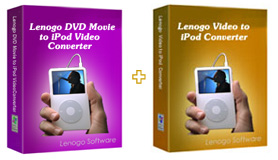 Lenogo DVD to iPod Converter + Video to iPod Powerpack Icon