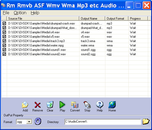 Rm Rmvb ASF Wmv Wma Mp3 Audio Converter Icon
