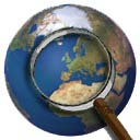 Satellite Image Browser Icon