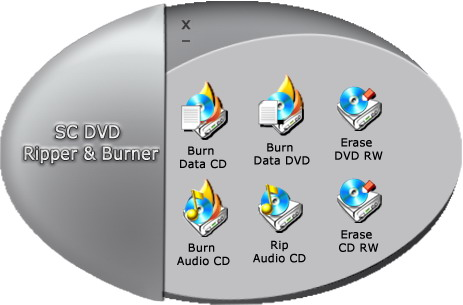SC Free DVD Ripper and Burner Icon