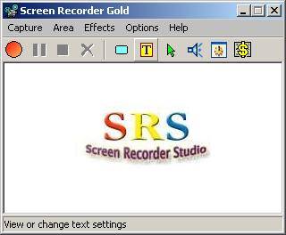Screen Recorder Gold Icon