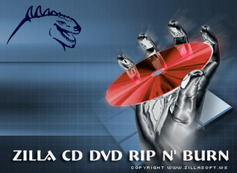 Zilla CD-DVD Rip N' Burn Icon