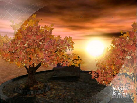 Download Wallpaper Images on Sunset   Animated 3d Wallpaper 3 1   Animated   Desktop   Wallpapers