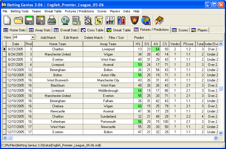 Betting Software search results