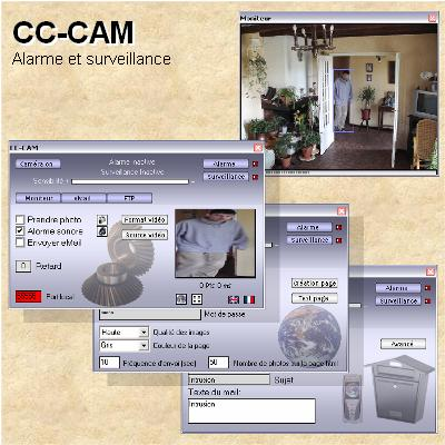 CC-CAM alarm system Screenshot