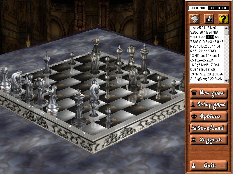 Chess3d screenshot