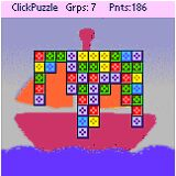 ClickPuzzle for PalmOS Screenshot