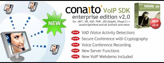 conaito VoIP SDK ActiveX Screenshot