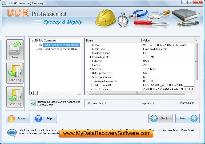 data download recovery software: