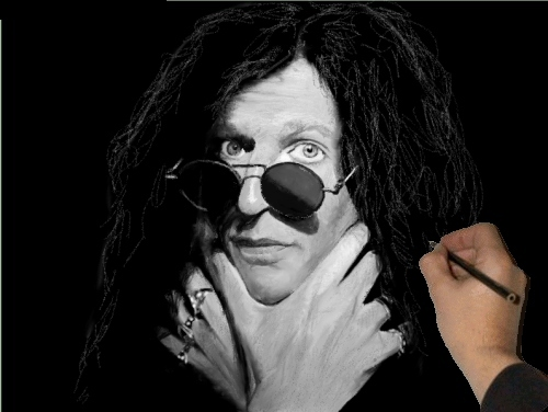 Howard Stern by Drawing Hand Screenshot