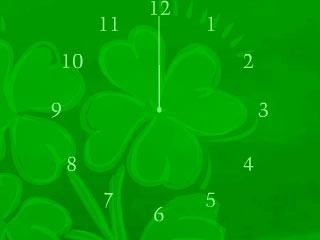 Clock Wallpaper 240�320