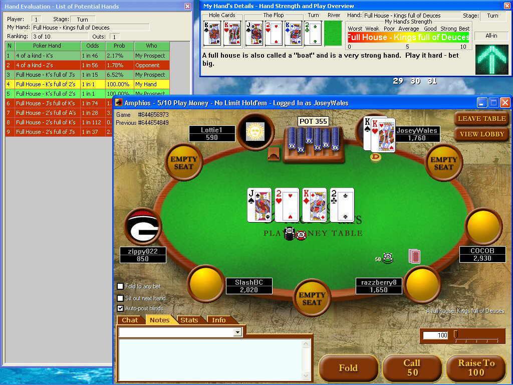 Poker hyper lag