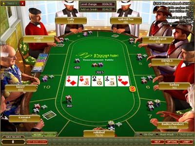 Poker applet