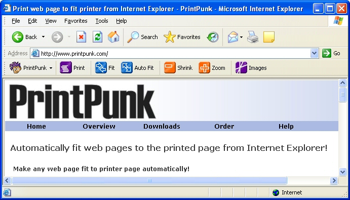 PrintPunk Screenshot