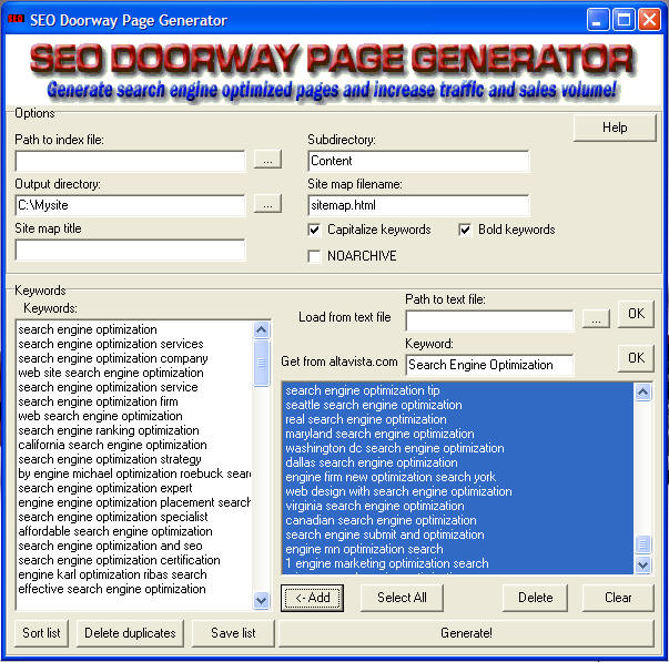 Search engine optimization software that will help you on search engine pro