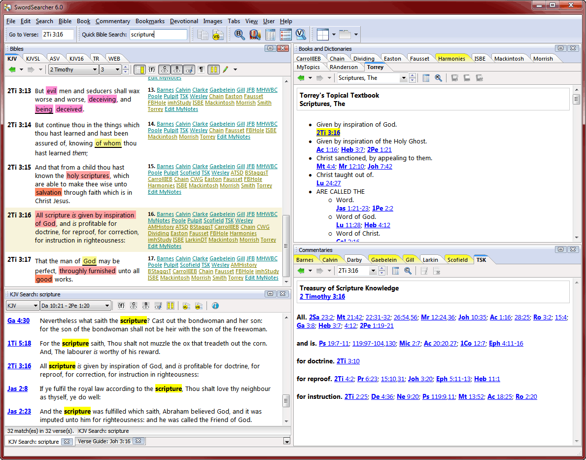Bible Study Pro (free) download Windows version