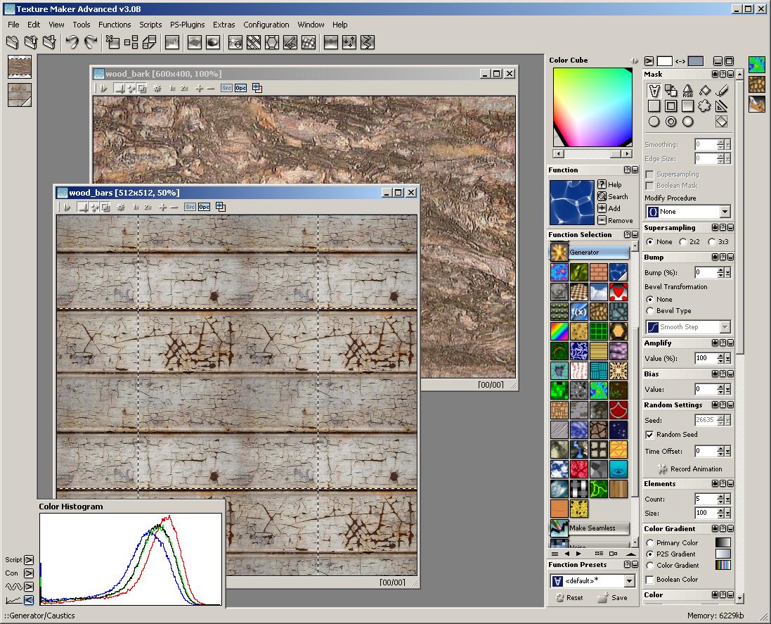 Sreenshot Texture Maker 3 0 Tiles Textures Backgrounds
