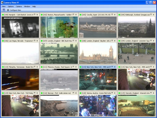 Camera Monitoring Software