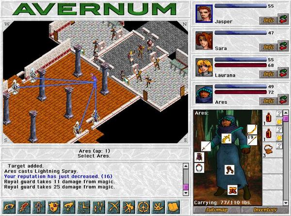 Avernum Screenshot